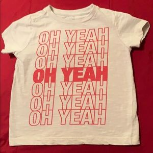 Gymboree oh yeah short sleeve t shirt